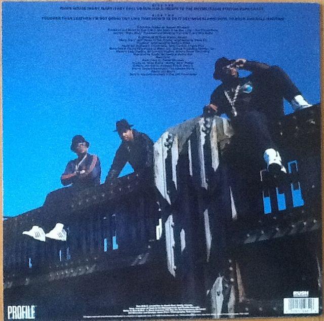 """RUN DMC """"TOUGHER THAN LEATHER"""" LP"""
