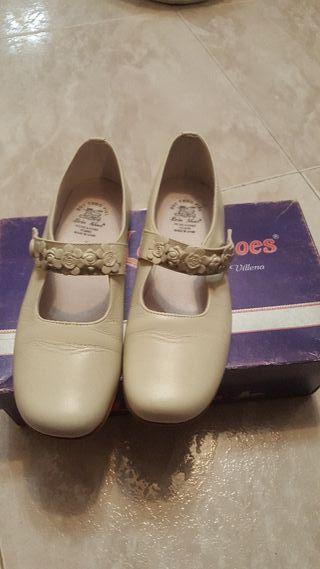 zapatos primera comunión niña