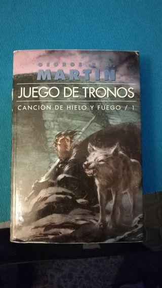 Saga libros Juego de Tronos,Pack 5 libros.