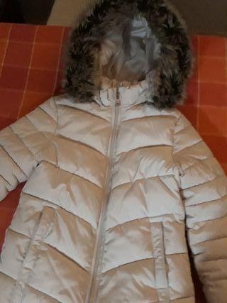 Chaqueta con capucha de niña