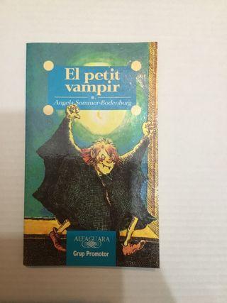 """Libro """"el petit vampir"""""""