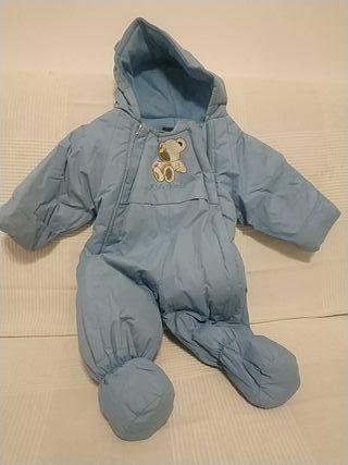 abrigo buzo bebé chaquetón