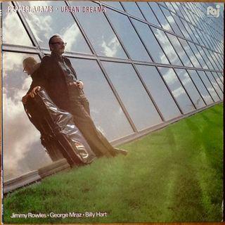 "PEPPER ADAMS ""URBAN DREAM"" LP"