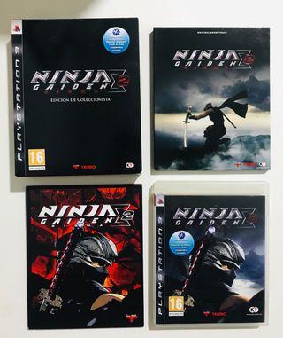 Ninja Gaiden 2 Coleccionista - Ps3