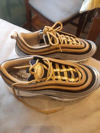 zapatillas nike mujer gold