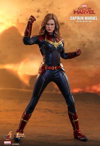 Capitana Marvel Hot Toys Figura 1/6 Marvel