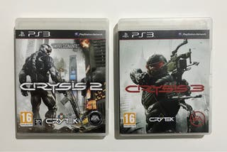 Crysis 2 y 3 - Ps3