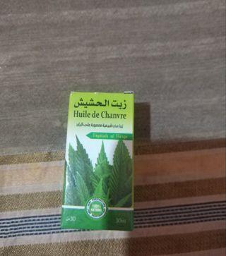 Aceite de cáñamo Bio 30 ml.