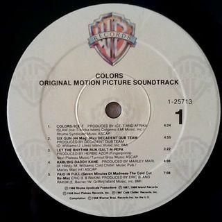 """V/A """"BSO COLORS"""" LP"""