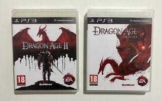 Dragón Age 1 y 2 - Ps3