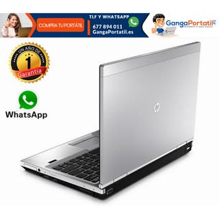 Portátil HP EliteBook 2570P, i5 / 256 Gb SSD / 8Gb