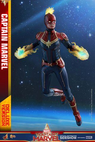 Capitana Marvel DELUXE Hot Toys Figura 1/6 Marvel