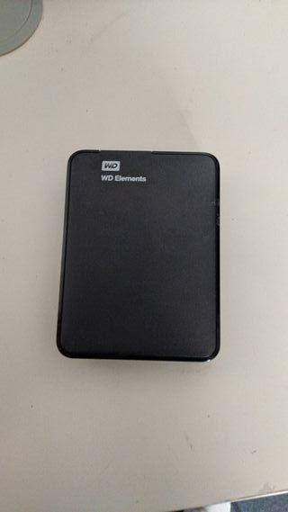 disco duro externo WD 1.5t