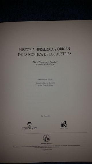 LIBRO DE ESTUDIOS DE LA HISTORIA HERALDICA