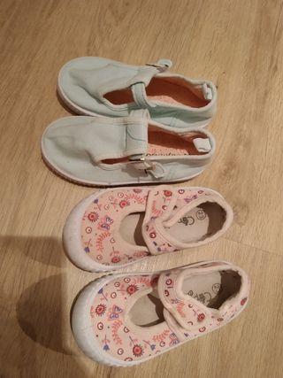 zapatos de lona para bebé