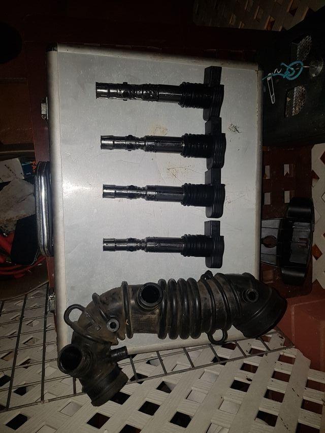 bobinas y tubo de aire para audi a4 b6 1.8turbo.