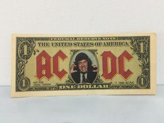 Billete AC/DC - NO ENVIO