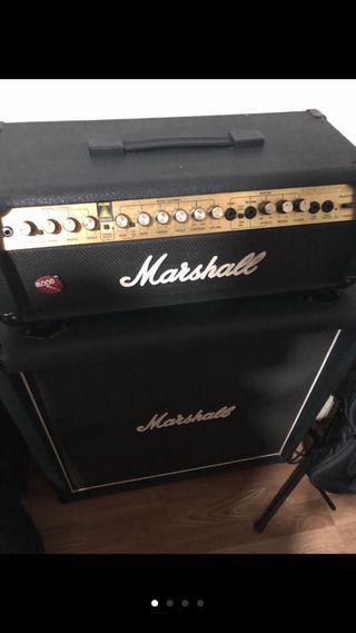 Cabezal y pantalla Marshall valvestate vs100