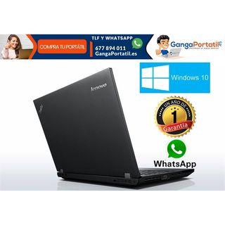 """Portátil Lenovo L540, 15,6"""" / i5 / 8Gb Ram / 500Gb"""