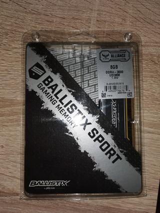 RAM 1x8GB 3000MHz DDR4