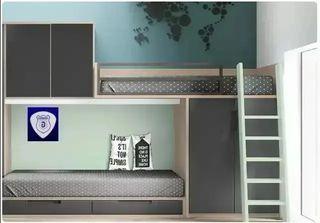 Dormitorio juvenil f214 tuy