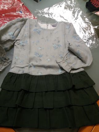 Vestido kids chocolate talla 3_4