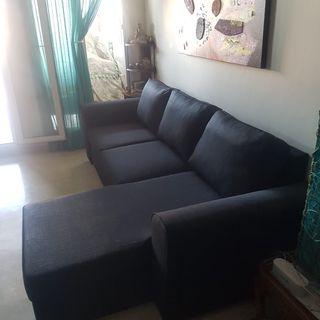 Sofá con chaiselong