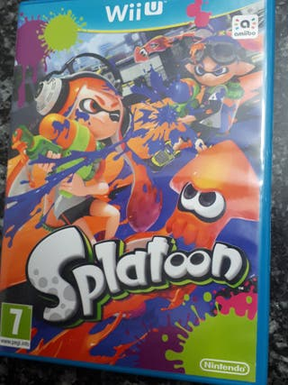 "Videojuego Wii U ""Splatoon"""