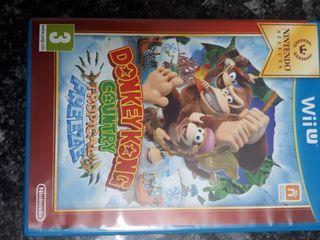 """Videojuego Wii U """"Donkey Kong"""""""