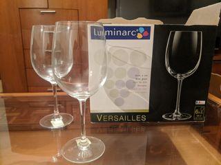 Juego 6 Copas vino Luminarc