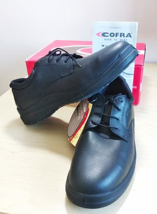 Zapatos de seguridad N°45 (Cofra S3 New Boreas)