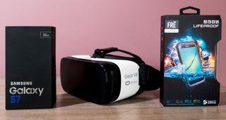 Samsung Galaxy S7 + Gear Vr + Carcasa Lifeproof