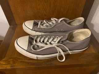 Zapatillas All Star gris oscuro talla 44 europeo