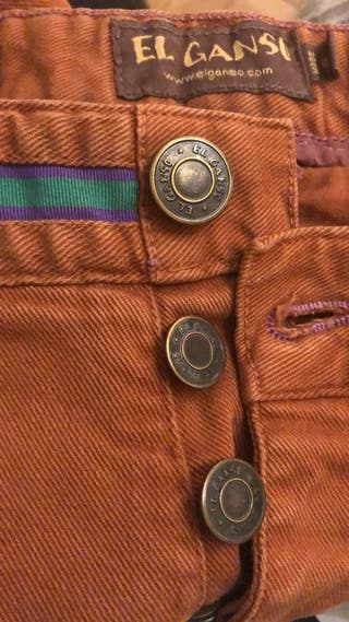 "Pantalones de ""el Ganso"""