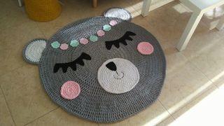 alfombra trapillo osita