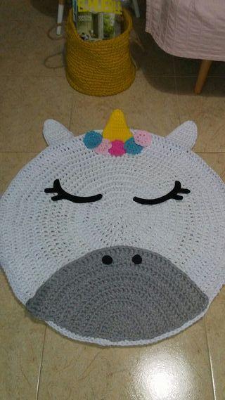 alfombra unicornio