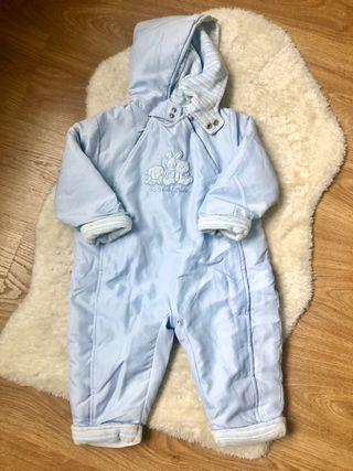 Buzo bebé azul talla 12-18 meses