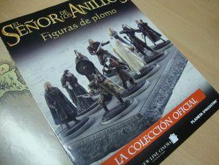 COLECCIÓN 10 FIGURAS PLOMO EL SEÑOR DE LOS ANILLOS