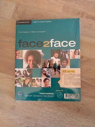 face2face libro Inglés intermediate NUEVO