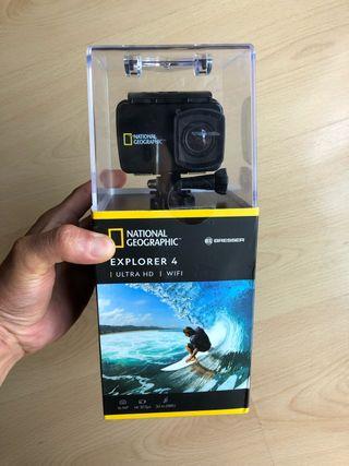 Cámara Deportiva Explorer 4 Ultra HD-Wifi
