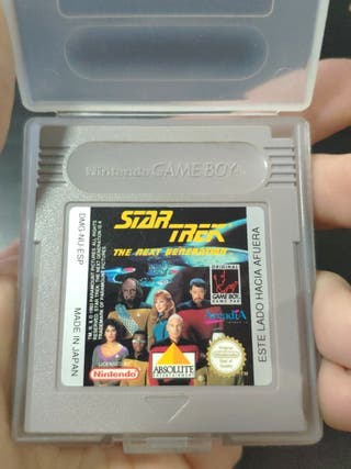 juego star Trek de consola Game boy