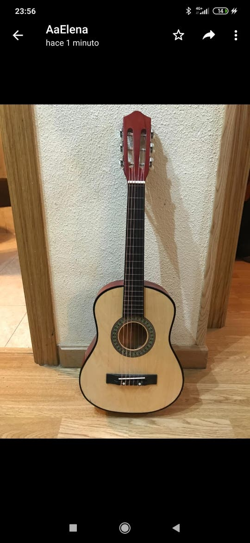 Organo Casio SA-77 + Guitarra española infantil