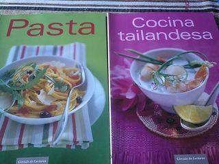 Cocina tailandesa y pasta.