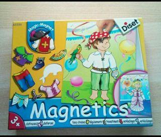 Lote 2 puzles ( 1 es magnético)