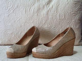 Sandalias glitter