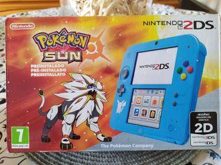 NINTENDO 2DS pokemon sol
