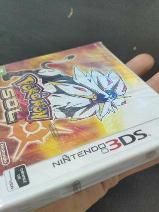 juego Pokemon sol de consola Nintendo 3ds