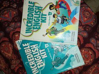 libros de primaria, sexto.