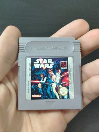 juego star wars de consola Nintendo Game boy