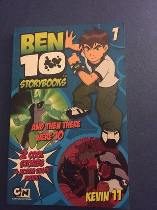 Libro en inglés de Ben 10 y Kevin 11